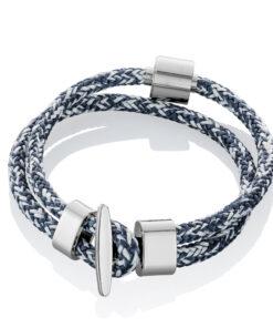 Askesmykke armbånd cord jeans